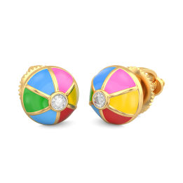 The Colour Mist Earrings For Kids
