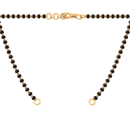 The Mangalsutra Single Line Open Chain