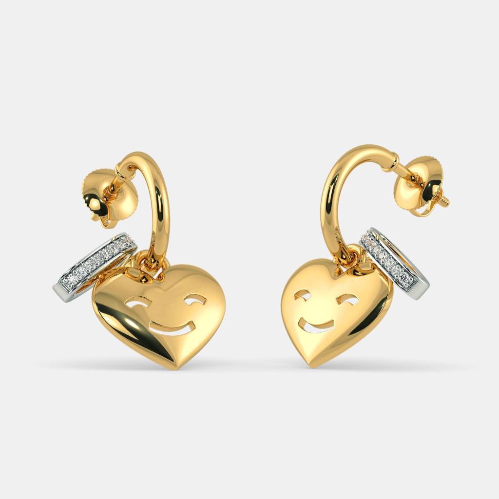 The Halo Of Love Hoop Earrings