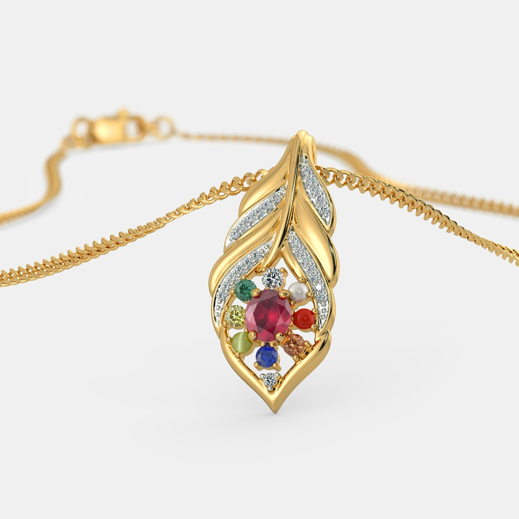 Buy 50+ Navaratna Jewellery Designs Online in India 2018 | BlueStone