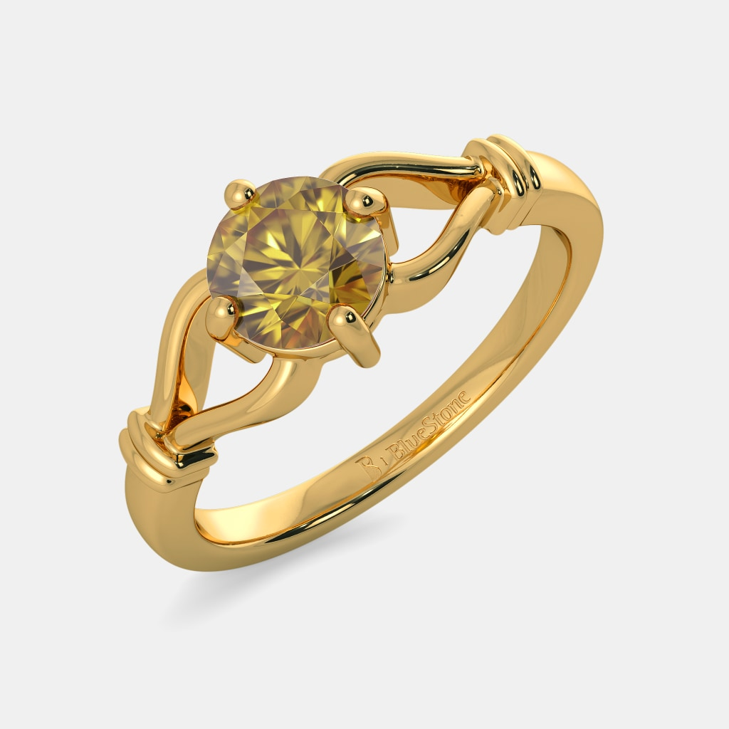Topaz Rings - Buy Topaz Ring Designs Online in India 2018 | BlueStone
