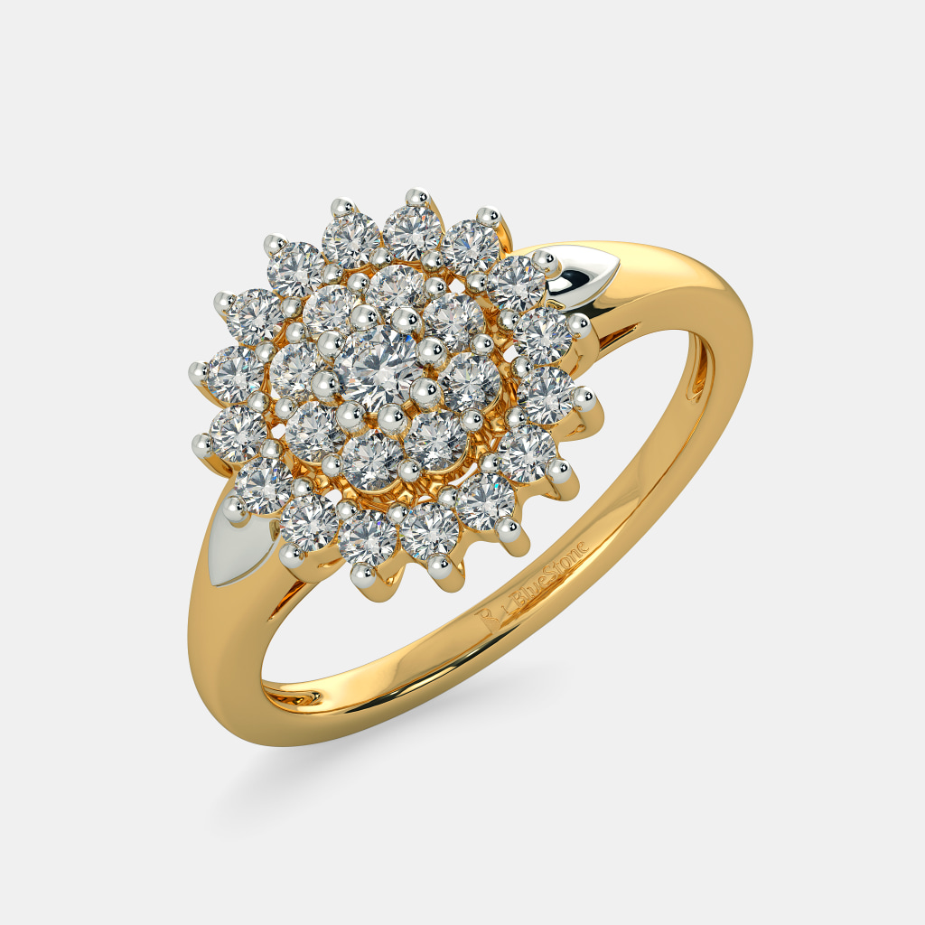 Pure Gold Ring Designs For Female