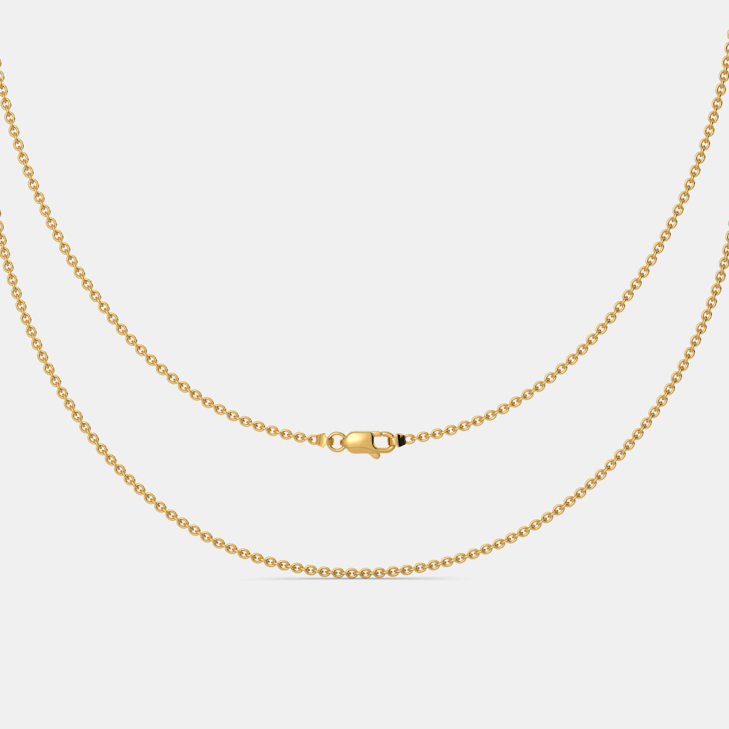 Buy Women\'s Gold Chain Designs Online in India 2018 | BlueStone