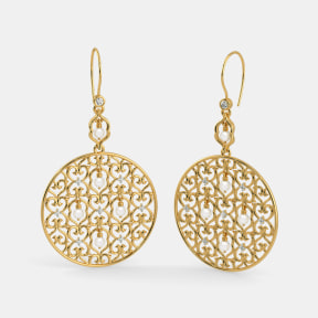 The B Iconic Statement Jaali Dangler Earrings