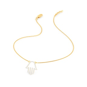 The Hamsa Hand Necklace