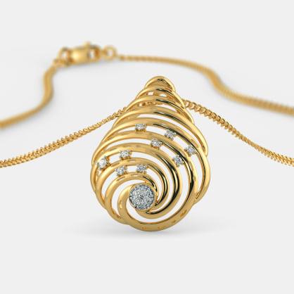 The Swirl Dew Pendant