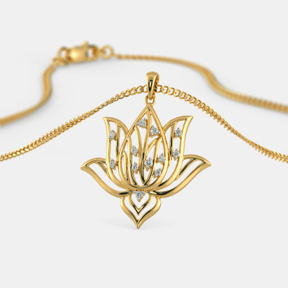 The Lotus Dew Pendant