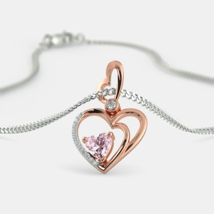 The Shirley Heart Pendant