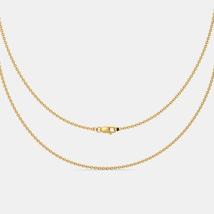 The Yellow Gold Cable Chain