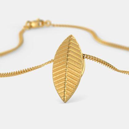 The Gold Leaf Pendant