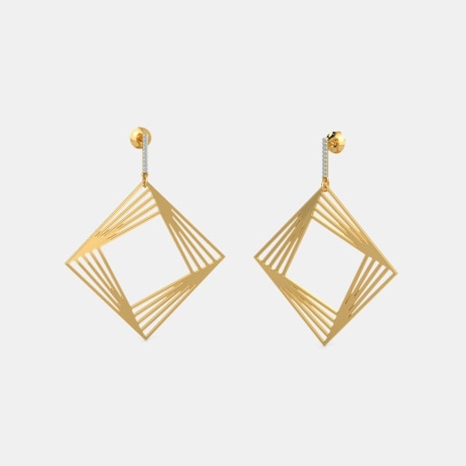 The Groovy Glam Drop Earrings