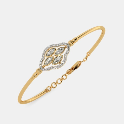 The Nohemi Oval Bangle
