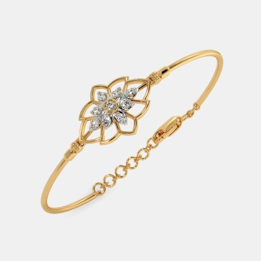 The Nuria Oval Bangle