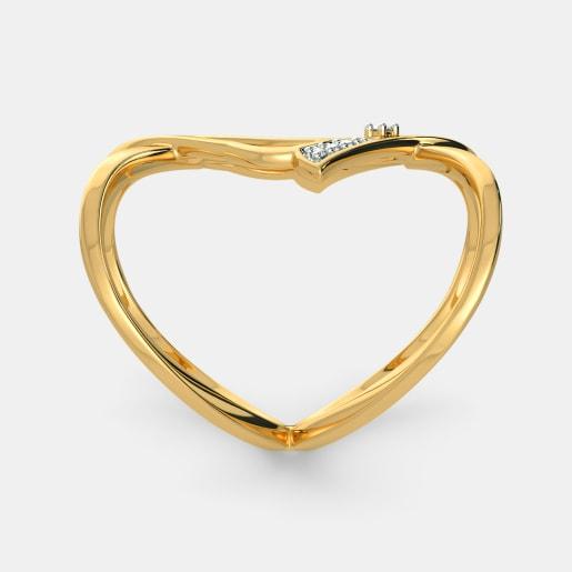 Diamond Ring In Yellow Gold (4.77 Gram) With Diamonds (0.040 Ct)