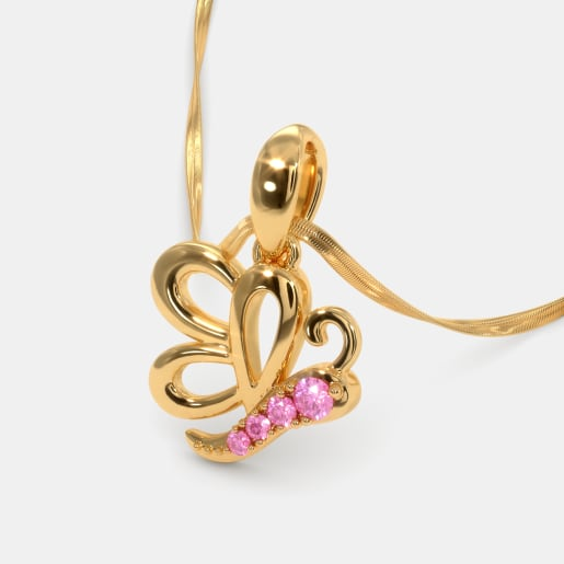 The Pretty Butterfly Pendant For Kids
