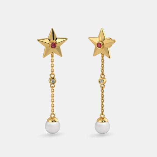 The Jenara Drop Earrings
