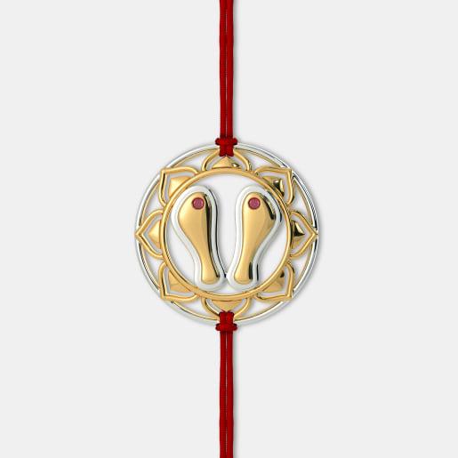 The Paduka Rakhi Pendant
