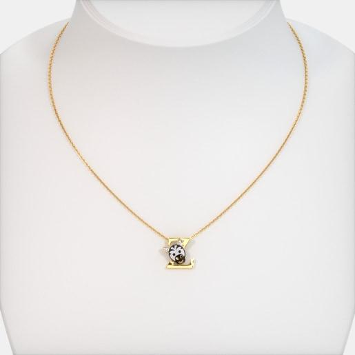 The Z For Zebra Necklace For Kids