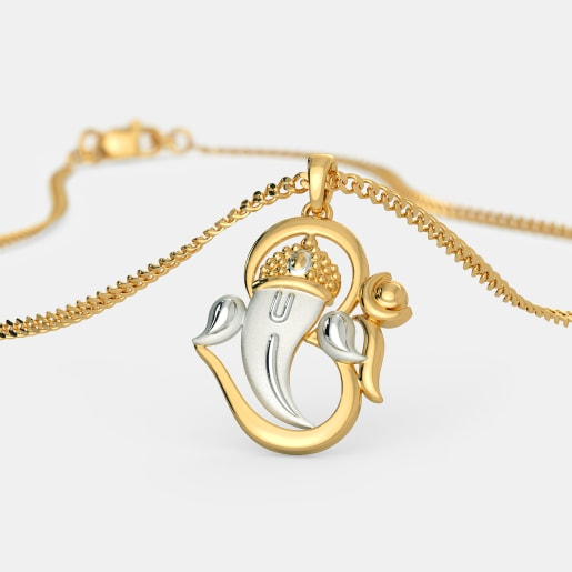 Ganesha pendants buy ganesha pendant designs online in india 2018 the yagnakaya pendant mozeypictures Gallery