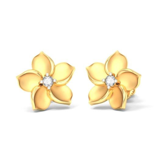 The Sensuous Rose Earrings