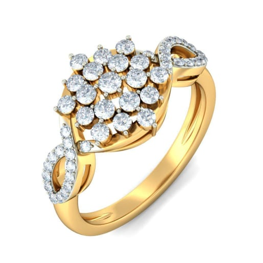 Buy 50 White Gold Wedding Ring Designs line in India 2018