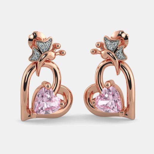 The Rosalie Heart Earrings