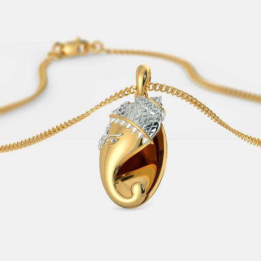 The Divine Ganesha Pendant
