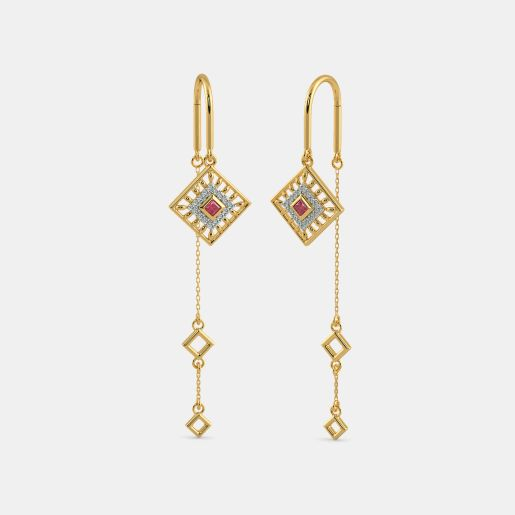 The Navya Sui Dhaga Earrings