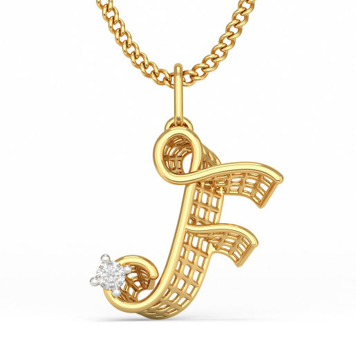 The Fun F Pendant